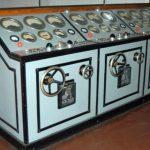 Styre pult for generator og turbiner